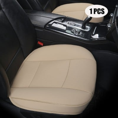 EDEALYN Ultra-luxury PU Leather Car Seat Protection Cover