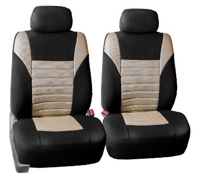 FH GROUP FH-FB068102 Premium 3D Air Mesh Seat Covers Pair Set