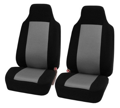 FH-FB102102 Classic Cloth Car Pair Set Seat Covers
