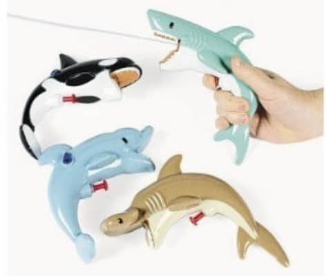 Sea Life Squirt Guns - Games & Activities & Water Toys(Assorted Pack Of 12)