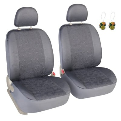 Leader Accessories Grey Seat Covers for Cars SUV Trucks Universal Fit