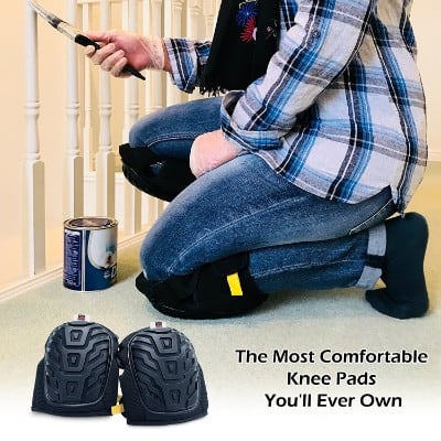 Professional Knee Pads for Work - Heavy Duty Knee Pads for Men and Women