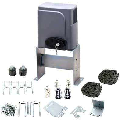 CO-Z Automatic Sliding Gate Opener Hardware Sliding Driveway Security Kit