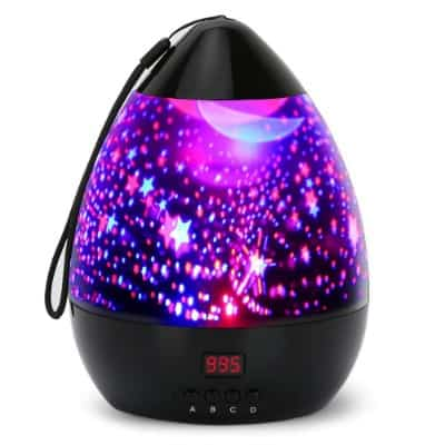 Star Projector, LBell Newest Star Sky Baby Night Light-360 Degree Rotating Cosmos Star
