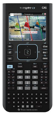 Texas Instruments Nspire CX CAS Graphing Calculator, Black