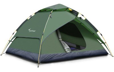 Sportneer Camping Tent 3-4 Person Automatic Instant Pop Up Waterproof Camping Hiking