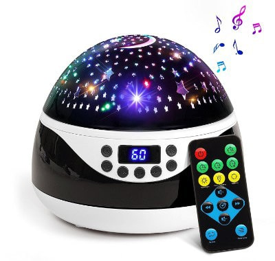2018 NEWEST Baby Night Light, AnanBros Remote Control Star Projector
