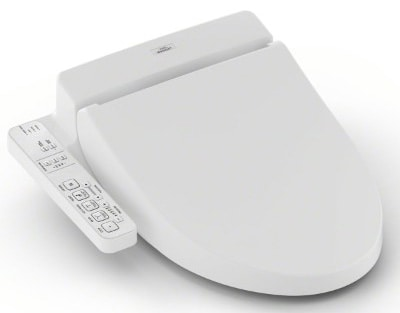 TOTO SW2034#01 C100 WASHLET Electronic Bidet Toilet Seat with Premist, Elongated