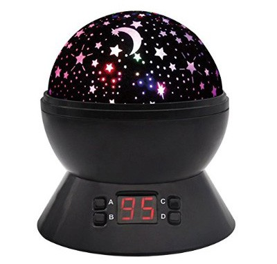 SCOPOW Constellation Night Light Star Sky with LED Timer Auto-Shut Off 360-Degree