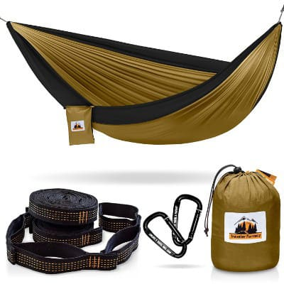 Traveler Fantasy All-in-One Camping Hammock, Portable and Lightweight