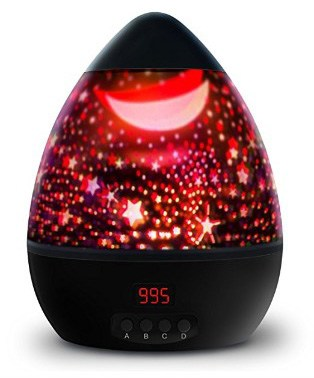 Newest Night Light, Multiple Colors Star Light Rotating Projector with Timer Auto Shut