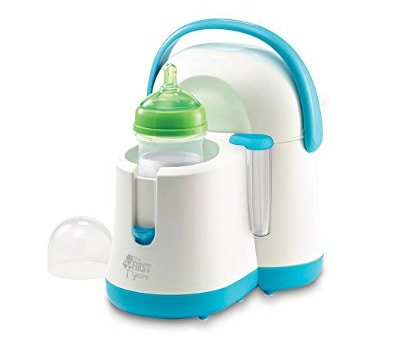 The First Years Night Cravings Bottle Warmer & Cooler, Blue:White