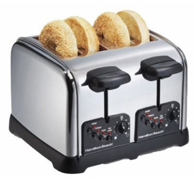 Hamilton Beach Classic Chrome 4 Slice Toasters (24790)