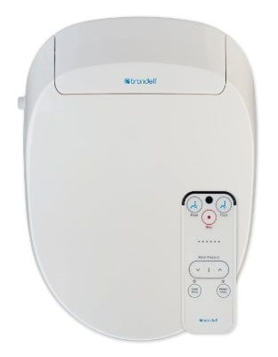 Brondell Inc. S300-EW Swash 300 Elongated Advanced Bidet Toilet Seat, White