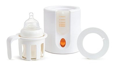 Munchkin High-Speed Bottle Warmer, Orange:White, 1 Count