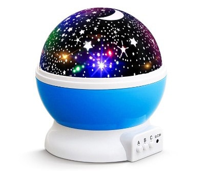 New Generation Baby Night Lights For Kids Night Light Rotating Moon Stars Projector