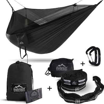 Double Hammock - Everest | Bug & Mosquito Free Camping & Outdoor Hammocks Tent