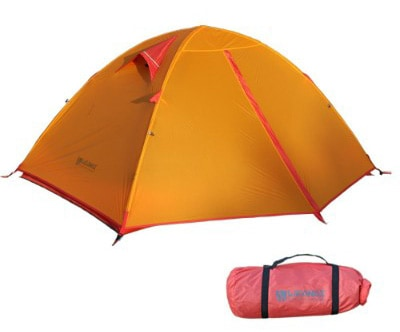 Weanas Backpacking Tent 2 Person Camping Tent 3 Season Ultralight Silicone Coating