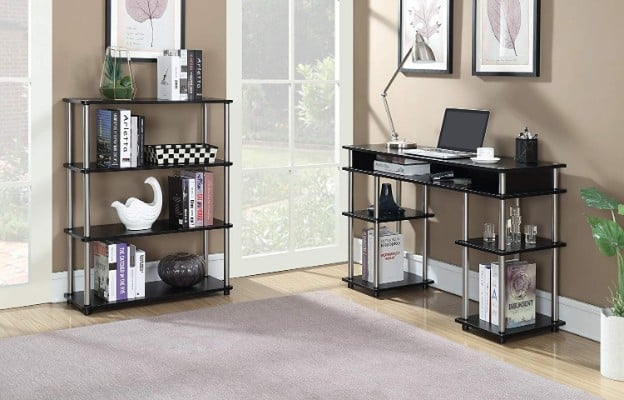 Convenience Concepts Modern No Tools Student Desk