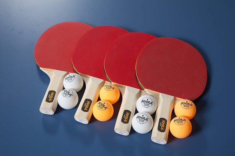 JOOLA 4-Player Indoor Table Tennis Hit Set