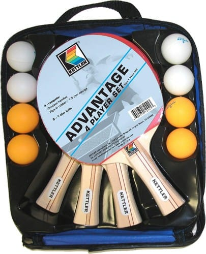 Kettler Advantage Indoor Table Tennis Bundle