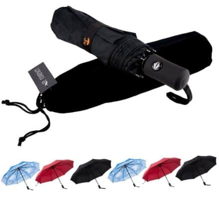 SY COMPACT Travel Umbrella Windproof Automatic Umbrellas
