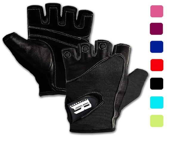 RIMSports Gym Gloves for Powerlifting, Weight Training, Biking, Cycling