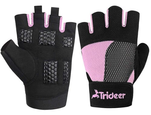 Trideer Weight Lifting Gloves, Breathable & Non-Slip, Workout Gloves