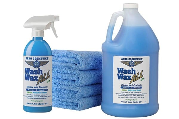 Aero Cosmetics Wet: Waterless Car Wash Wax Kit 144 Ounces