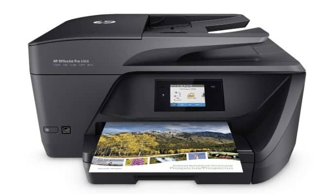 HP OfficeJet Pro 6968 All-in-One Wireless Printer with Mobile Printing