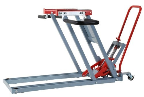 Pro-LifT T-5500 Lawn Mower Jack Lift with 500 Lbs Weight Capacity Wheel Bracket