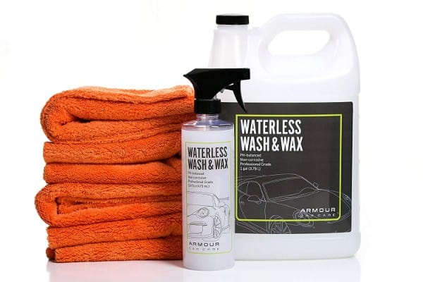 Armour Car Care Waterless Car Wash Kit