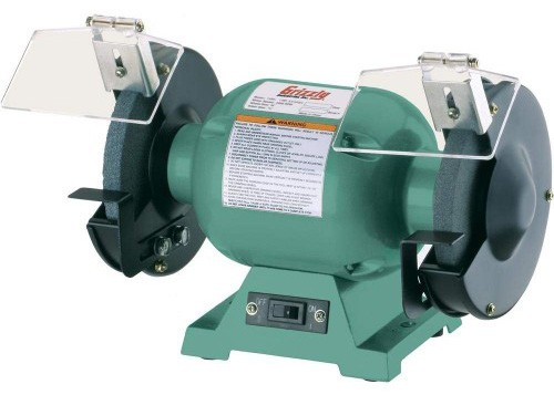Grizzly G9717 Bench Grinder with 1:2-Inch Arbor