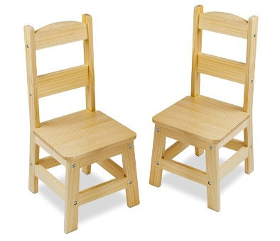 Melissa & Doug Solid Wood Chairs