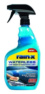 Rain-X 620100 Waterless Car Wash Repellent, 32. Fluid Ounces
