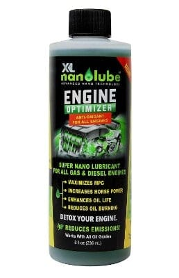#12 XL Nanolube Engine Oil Additive & Nano Treatment; Reduces Oil Burning