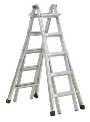 Werner MT-22 300-Pound Duty Rating Telescoping Multi-Ladder