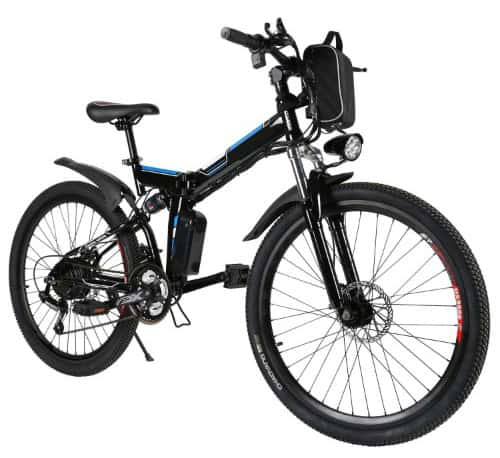 Tomasar Power Electric Bike with Lithium-Ion Battery