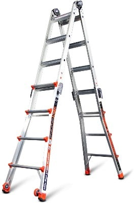 Little Giant 12017 RevolutionXE 300-Pound Duty Rating Multi-Use Ladder