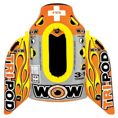 WOW World of Watersports, 13-1020, Tri Pod, 3 Towables in One