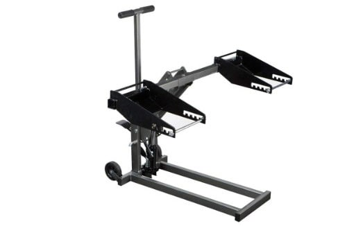 High Lift Jack 300-Pound for Tractor Riding Mower ATV Quads