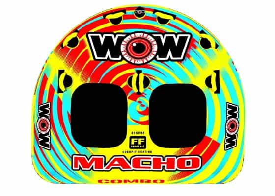 WOW World of Watersports, Macho 16-1010 1 to 2 person Towable Tube