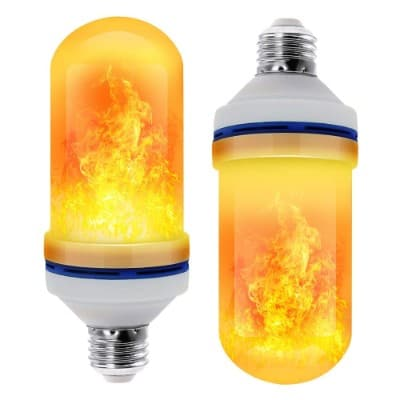 CPPSLEE - LED Flame Effect Light Bulb