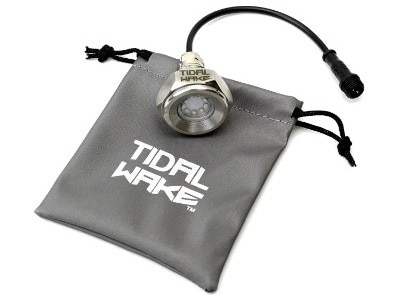Tidal Wake IP68 Underwater 1:2in Standard Boat Drain Plug LED Light