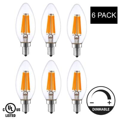 LightAccents Indoor Outdoor Dimmable LED Filament Light Bulb
