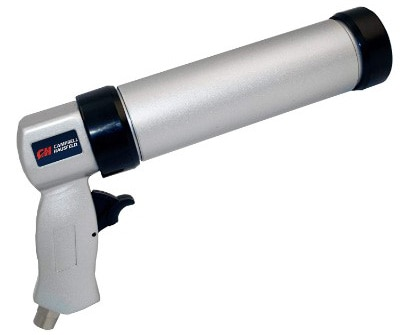Air Powered Caulk Gun with Easy-Pull Shut-Off Valve (PL155800AV)