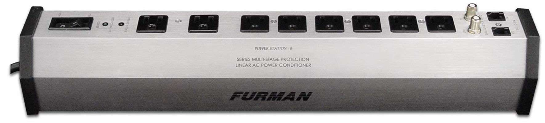Furman PST8 SMP EVS LiFT 15-Amp Aluminum Chassis