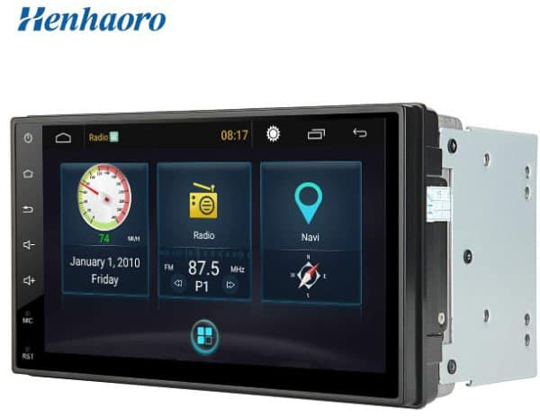 Henhaoro 7 Android Car Stereo Gps Navigation Touch Screen