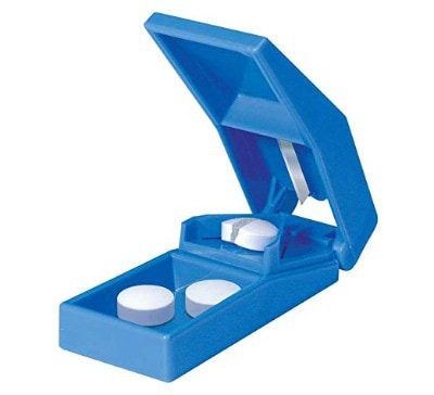 Apex Pill Splitter - Pill Cutter For Small Pills Thru Large Pills