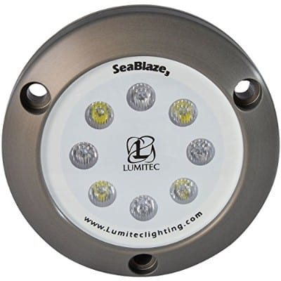 Lumitec SeaBlaze3 LED Underwater Boat Light, Surface Mount